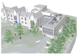 Artists impressions of the new building.