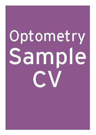 Optometry sample CV thumbnail