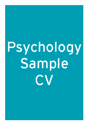 Psychology sample CV thumbnail
