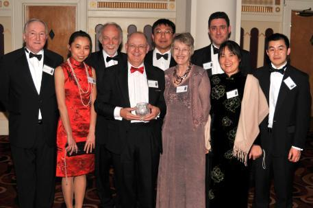 Science Bridges China won Yorkshire & Humberside China Award - Best Education 2009